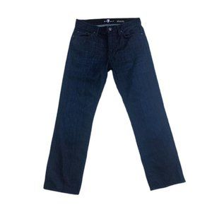 7 For All Mankind Dark Wash Mens Jeans Sz 30